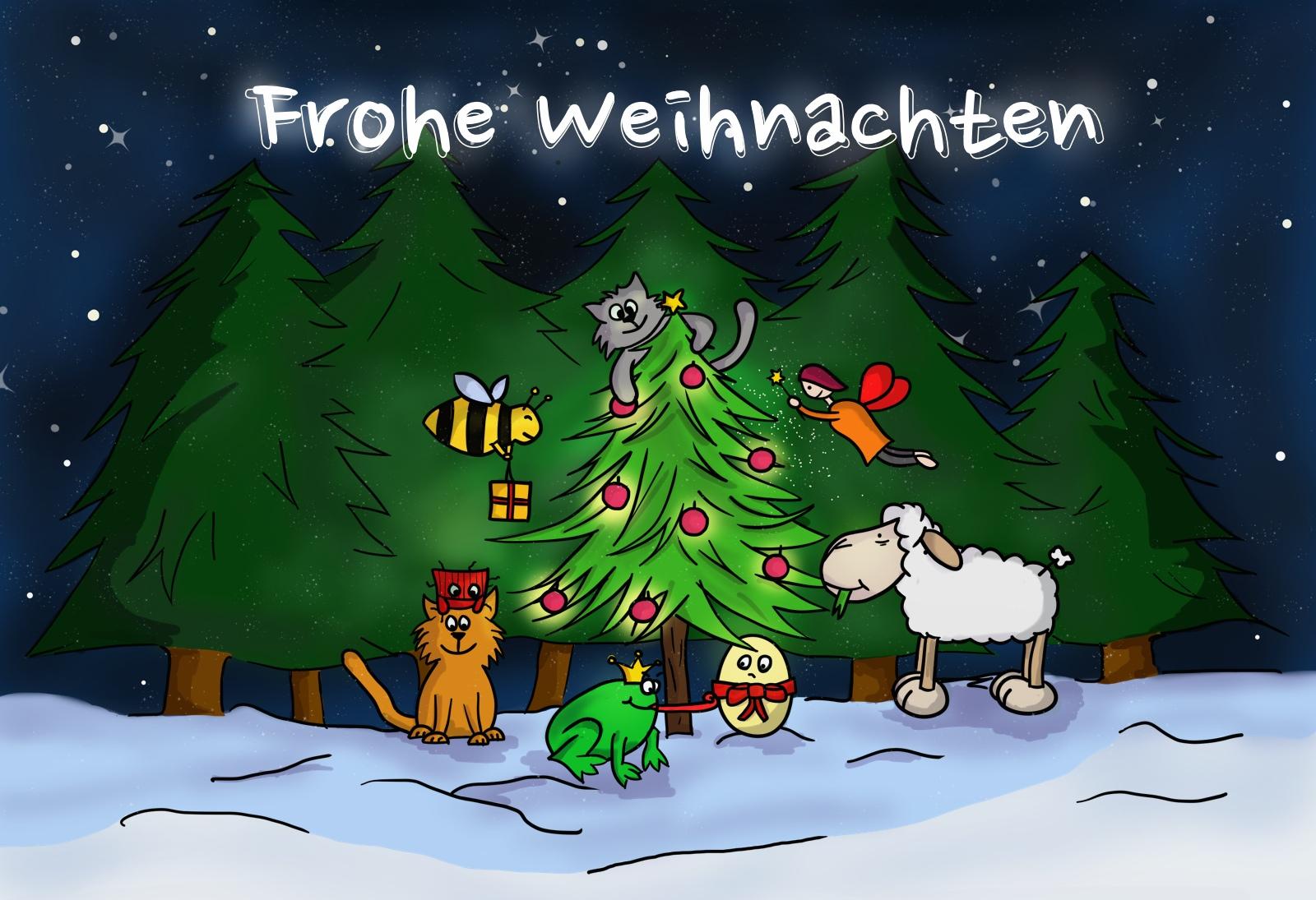 Comic Frohe Weihnachten.Frohe Weihnachten Und Alles Gute Für 2015 Tischtennis Bundesliga